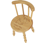 Personalised Childrens Stools and Chairs