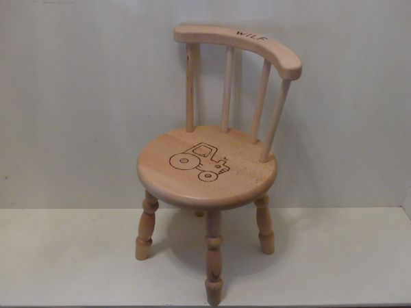 Lacquered Beech Chair