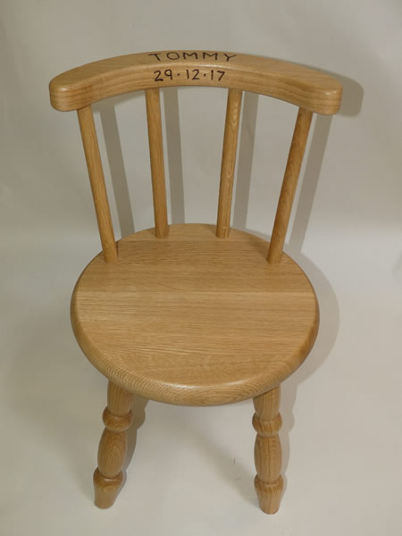 Lacquered Oak Chair
