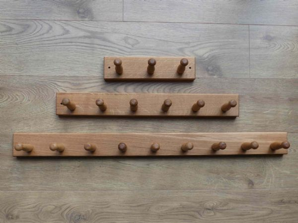 Super Strong Oak coat pegs